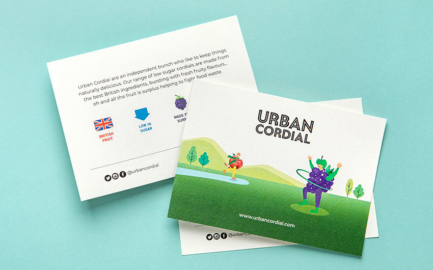 Urban Cordial visual identity