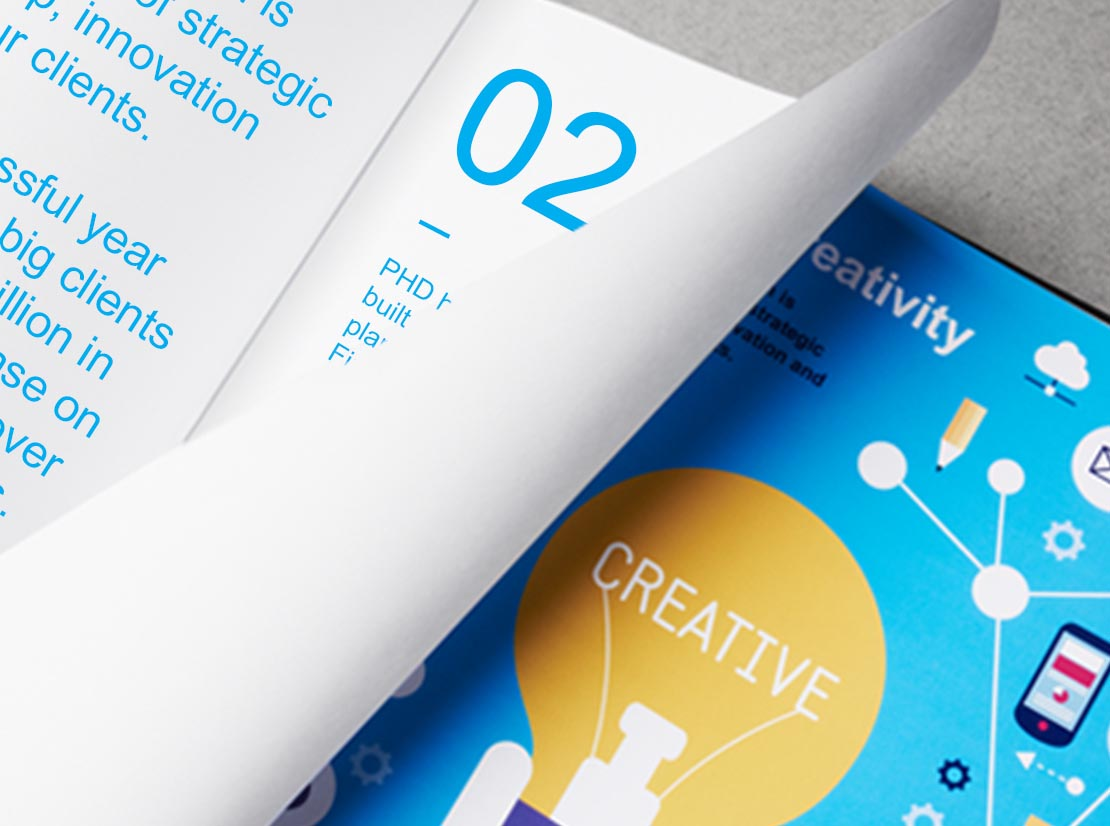 PHD Creative book design