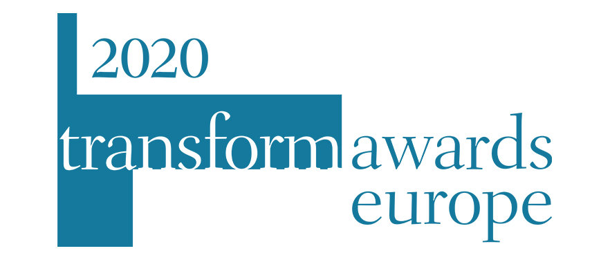2020 Transform Awards Europe logo